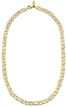 Fendi FF link chain necklace