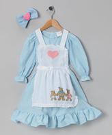 Blue Goldilocks Dress-Up Set - Toddler & Kids