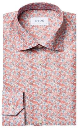 Eton Slim-Fit Floral Cotton Shirt