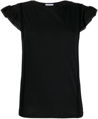 Dondup ruffle sleeve top