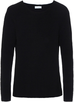 Raey Ribbed-knit cotton-blend sweater