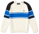 Ralph Lauren Boys 2-7 Long Sleeve Striped Sweater