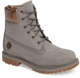 Timberland Women's 6 Inch Premium Metallic Waterproof Boot