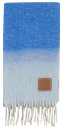 Loewe Mohair stripe scarf