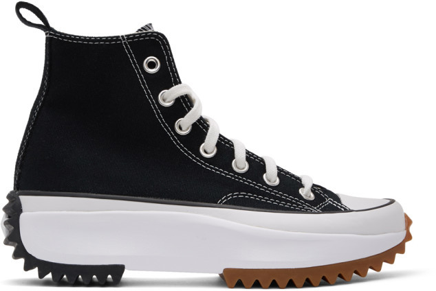 Converse Black Run Star Hike Sneakers