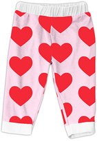 Urban Smalls Pink Heart Pants - Infant