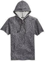 American Rag Men's Marled Short-Sleeve Hoodie