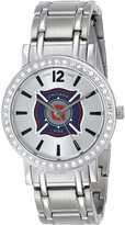 Game Time Women's MLS-AS-CHI All Star Stone Bezel Triple Analog Display Japanese Quartz Watch