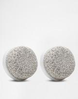 Pulsaderm Set Of 2 Heads Pumice Stone