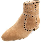 French Connection Charlene Round Toe Suede Ankle Boot.