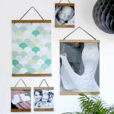 Modo creative Personalised Oak Picture Hanger With Photo