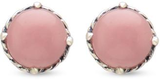 David Yurman Chatelaine Earrings (Guava Quartz)