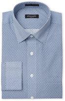 Pierre Cardin Blue Print Slim Fit Dress Shirt