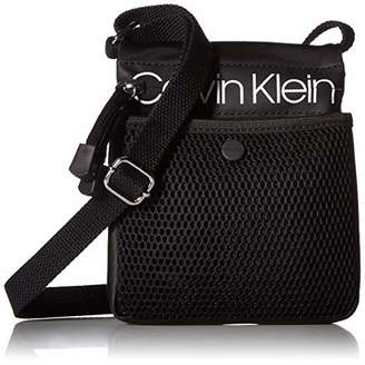 Calvin Klein Tabbie Nylon Multi-Pocket Organizational Crossbody