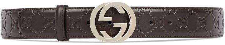 Gucci Signature leather belt