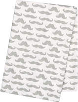 TREND LAB, LLC Trend Lab Mustaches Deluxe Swaddle Blanket