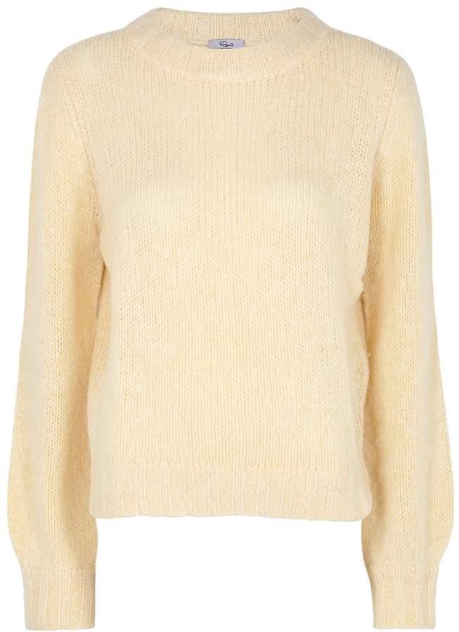 Rails Sybil Pale Yellow Wool-blend Jumper