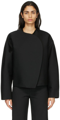 Totême Black Wool Dinner Jacket
