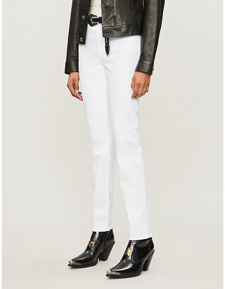 J Brand Ruby mid-rise cigarette jeans