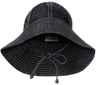 Maison Michel Julianne denim bucket hat