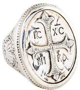 Konstantino Cross Signet Ring