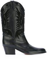 Aquazzura 'Imperial Cowboy' boots - women - Calf Leather/Leather/Calf Suede - 36