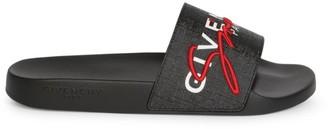 Givenchy New Logo Rubber Slides