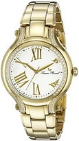 Lucien Piccard Women's LP-16353-YG-22 Elisia Analog Display Quartz Gold Watch
