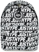 Hype Black Logo Backpack*