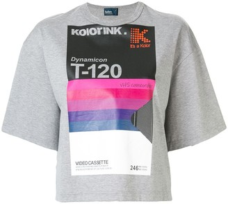 Kolor cassette graphic print T-shirt