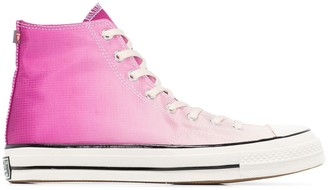 Converse Pink Primaloft Chuck 70 high top sneakers