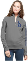 '47 Women's Los Angeles Dodgers Cross Check Quarter-Zip Pullover