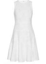 Rebecca Taylor Sleeveless cotton-blend jacquard dress