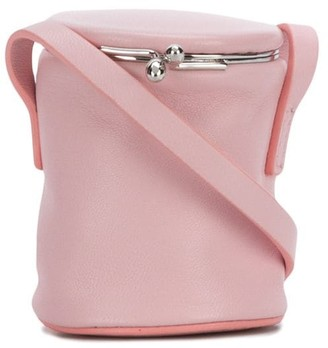Jil Sander Mini Neck-Strap Bucket Bag