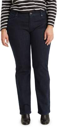 Levi's Plus 414 Classic Straight-Leg Island Rinse Jeans