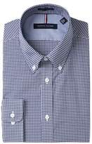 Tommy Hilfiger Gingham Slim Fit Non Iron Dress Shirt