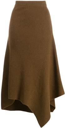 Pringle travelling rib maxi skirt