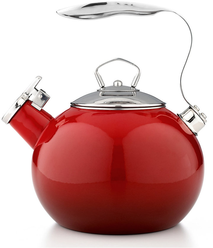 Martha Stewart CLOSEOUT! Collection Red Ombre Tea Kettle
