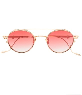Gentle Monster x Diplo THECUB 032 round tinted sunglasses
