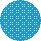 Blue Area Mehpare Wool Rug East Urban Home Rug Size: Rectangle 3' x 5'
