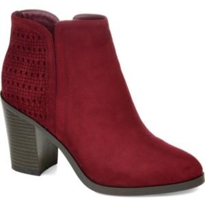 Journee Collection Women's Jessica Booties Women's Shoes