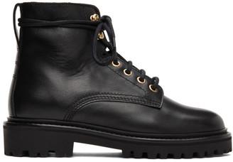 Isabel Marant Black Campee Boots