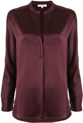 Vince V-neck cotton blouse