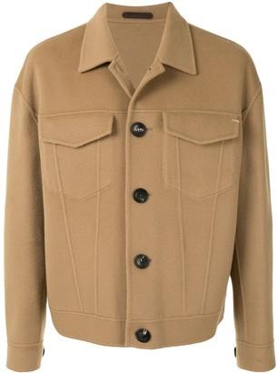 SONGZIO Crop Trucker Jacket