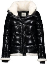 SAM. Willa Shearling-Trimmed Down Puffer Jacket