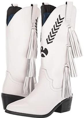 Dingo Thunderbird (White) Cowboy Boots