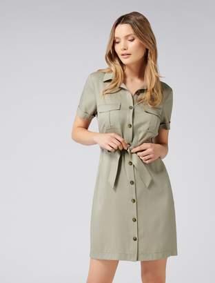Ever New Lilly Safari Mini Dress