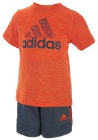 adidas Boys' Full Court Tee & Shorts Set - Little Kid