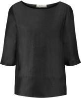 Marni Linen and silk-blend top