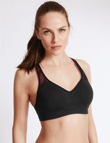 Marks and Spencer Breathable High Impact Underwired Padded Sports Bra A-DD